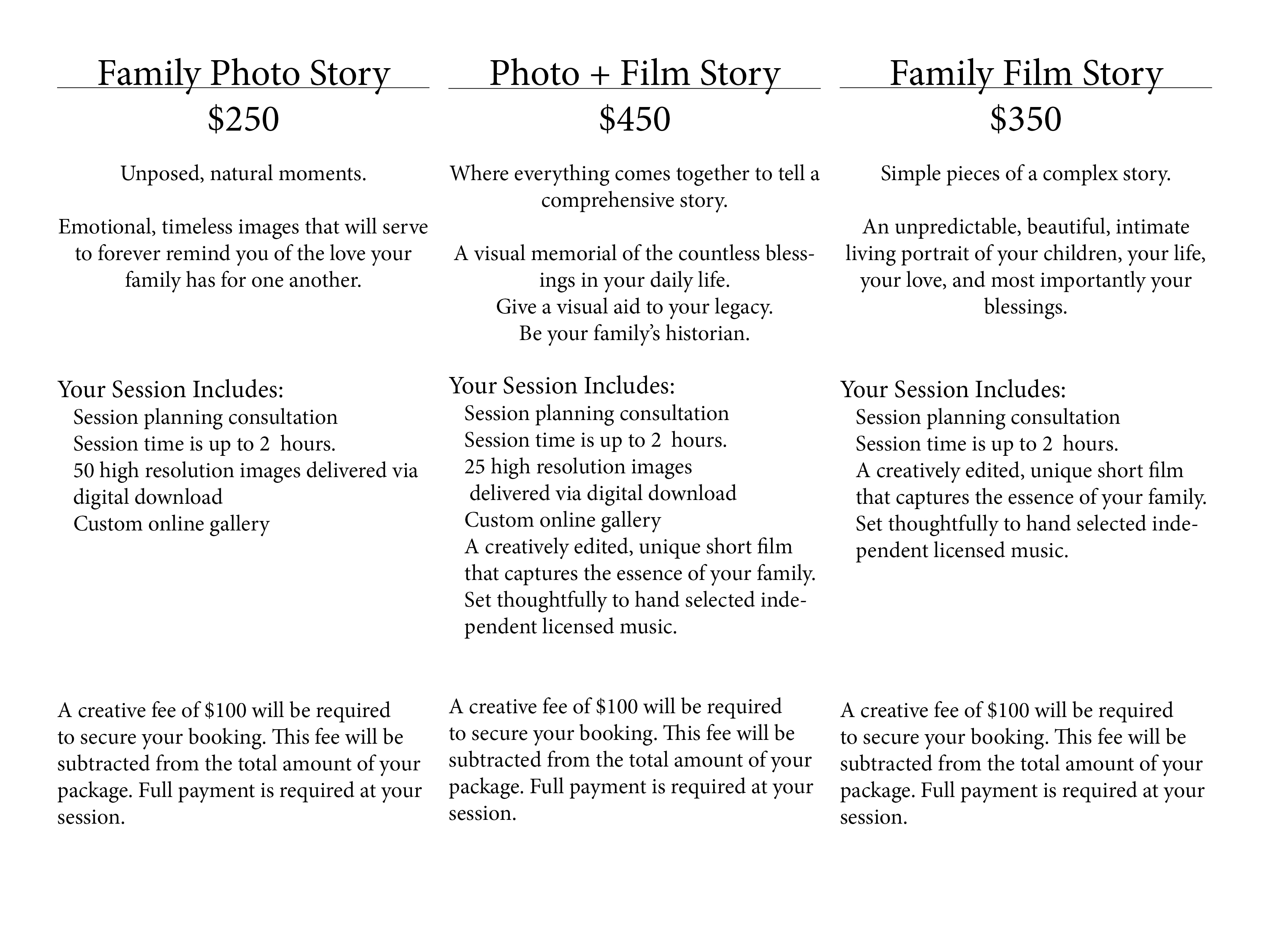 Family Photo and Film Story Investment Board